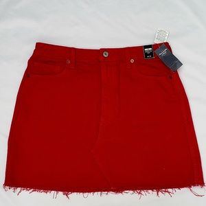 🇺🇸🎆Abercrombie & Fitch Red Zoe  Skirt 30/10